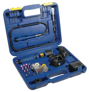 Wen 9.6V Cordless Rotary Tool Kit w/2 Batteries