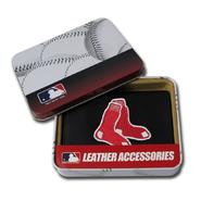 Rico Boston Red Sox Men's Black Leather Tri-fold Wallet at Kmart.com