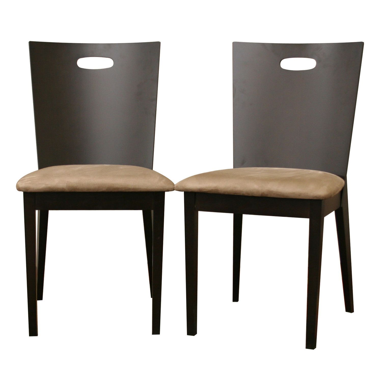 Lamar Dark Brown Modern Dining Chair (Set of 2)