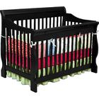 Delta Canton 4-in-1 Convertible Crib in Black