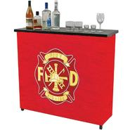 Trademark Fire Fighter Metal 2 Shelf Portable Bar w/ Carrying Case at Kmart.com