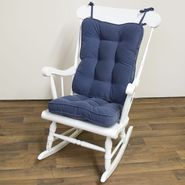Greendale Home Fashions Standard Rocking Chair Cushion - Hyatt fabric -  Denim. at Sears.com