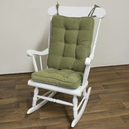 Greendale Home Fashions Standard Rocking Chair Cushion - Hyatt fabric -  Moss. at Kmart.com