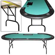 "Trademark Poker 96"" Table w/ Removable rails and dealer position, money slot at Kmart.com"