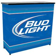 Trademark Bud Light Metal 2 Shelf Portable Bar Table w/ Carrying Case at Kmart.com