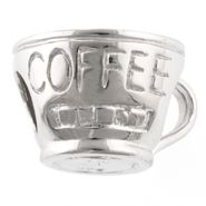Tradition Charms Sterling Silver Coffee Cup Charm at Kmart.com