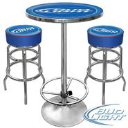 Trademark Ultimate Bud Light Gameroom Combo - 2 Bar Stools and Table at Kmart.com