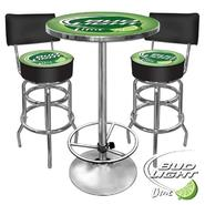 Trademark Ultimate Bud Light Lime Gameroom Combo - 2 Stools and Table at Kmart.com
