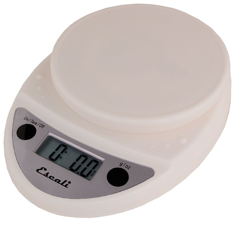 Escali White Primo Digital Scale