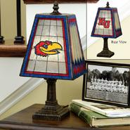 Memory Company Kansas Jayhawks 14-inch Glass Lamp at Kmart.com