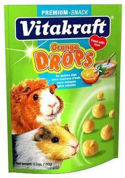 Vitakraft Sunseed Inc. Vit Treat Guinea Pig Orange Drops 5.3 oz.