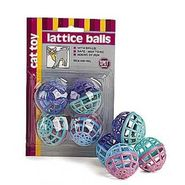Ethical Products Inc. Eth Toy Lattice Ball w/Bell 4 pk. at Kmart.com