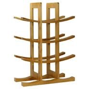 Oceanstar 12-Bottle Natural Bambbo Wine Rack WR1149 at Kmart.com