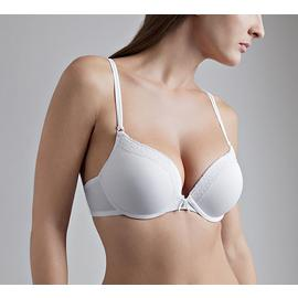 Jaclyn Smith Women's Micro Push-Up Double Strap Bra at Kmart.com