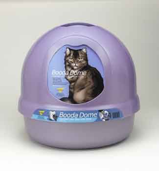 Asp Litter Box Booda Dome Iris                                                                                                   at mygofer.com