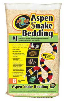 Zoo Med Laboratories Zml Aspen Snake Bedding 8 qt.