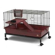 Pets International Ltd. Pts Cage My First Home w/Stand Large Burgundy at Kmart.com