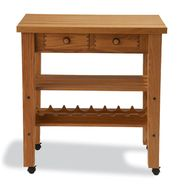 Snow River Oak Kitchen Island at Sears.com