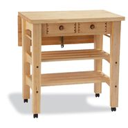 Snow River Maple Drop Leaf Kitchen Island at Sears.com