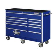 "Extreme Tools 56"" 11 Drawer Professional Roller Cabinet in Blue at Sears.com"