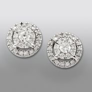 David Tutera 3/4 cttw Certified Diamond Signature Earrings 14k White Gold at Sears.com