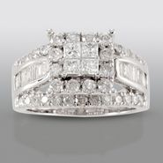 David Tutera 2 cttw Certified Diamond Engagement Ring 14k White Gold at Sears.com