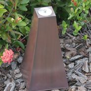 "Smart Garden Calatrava Zinc Firepot 17"" H in Light Copper at Sears.com"