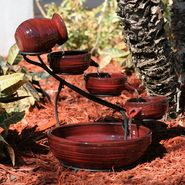 Smart Solar Lava Ceramic Solar Cascade in Lava Red finish at Sears.com