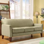 Oxford Creek Sofa in Microfiber Sage at Sears.com