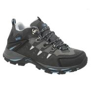 AdTec Women's Suede Leather Low Cut Steel Toe Hiker Black at Kmart.com
