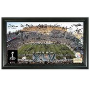 Highland Mint Pittsburgh Steelers Super Bowl XLV Replica Signature Framed Photo at Kmart.com