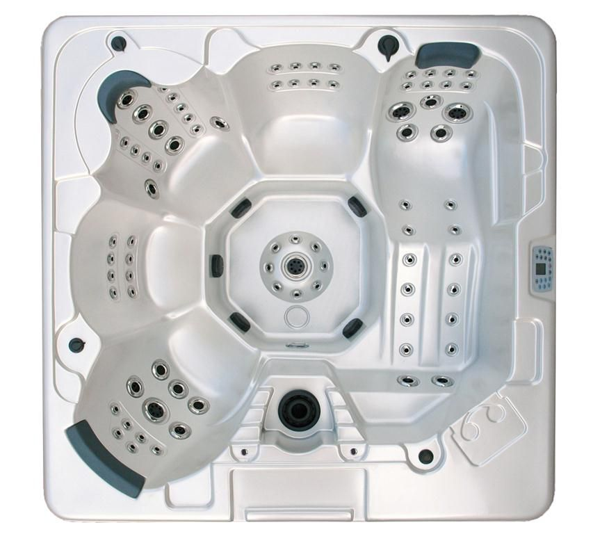 106-Jet 5-Person Hot Tub with MP3 Auxilary Output
