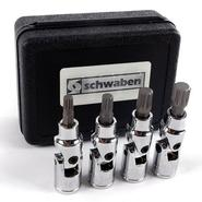 "Schwaben 4 Piece 3/8"" Drive Universal Joint Triple Square Driver Set at Sears.com"