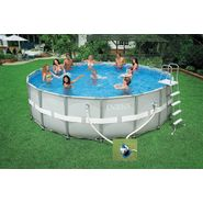 Intex 18' x 52 Ultra Frame Pool Set (w/ 1,600 gph Sand Filter & Saltwater Combo System) at Kmart.com