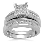 1/2 cttw Diamond Bridal Set at Sears.com