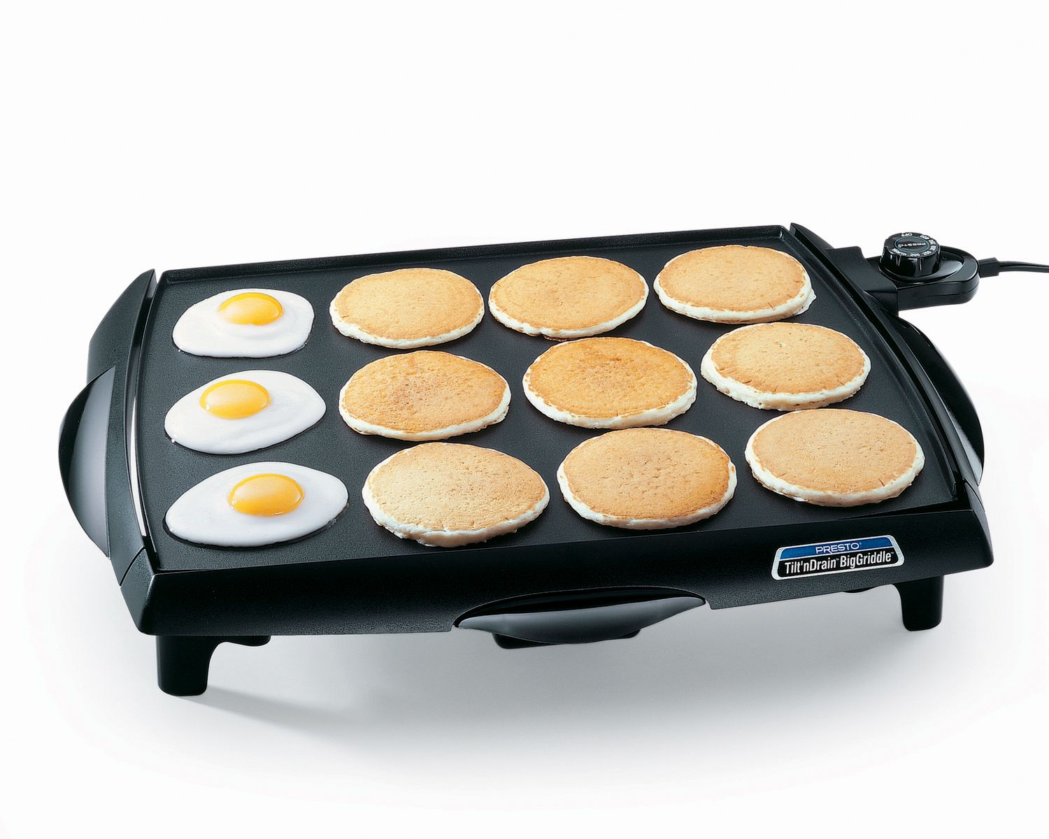 Presto  Tilt'n Drain Big Griddle Cool