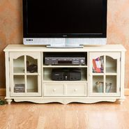 Southern Enterprises Coventry Large TV Console - Antique White at Kmart.com