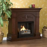 Southern Enterprises Sicilian Harvest Mahogany Gel Fuel Fireplace at Kmart.com