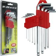 Trademark Tools 9 piece Allen Wrench Hex Set Ball Head at Sears.com