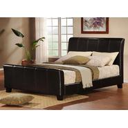 Oxford Creek Queen Size Sleigh Bed in Faux Leather at Sears.com