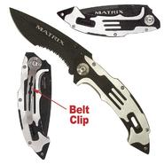Trademark Tools Matrix Stainless Steel Folding Knife - Black Finish at Sears.com