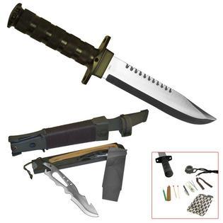 Whetstone Jungle King 14 Inch Hunting Knife with Nylon Sheath