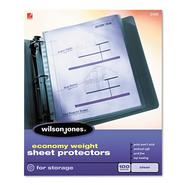 Wilson Jones Economy Sheet Protector at Kmart.com