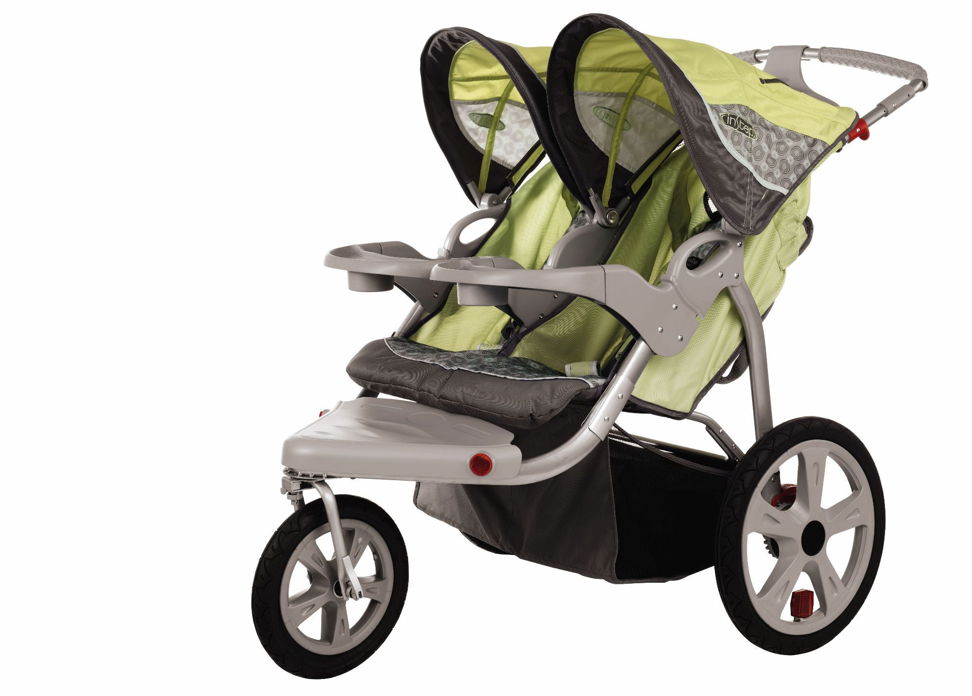 In Step  InStep Safari Swivel Double Jogger