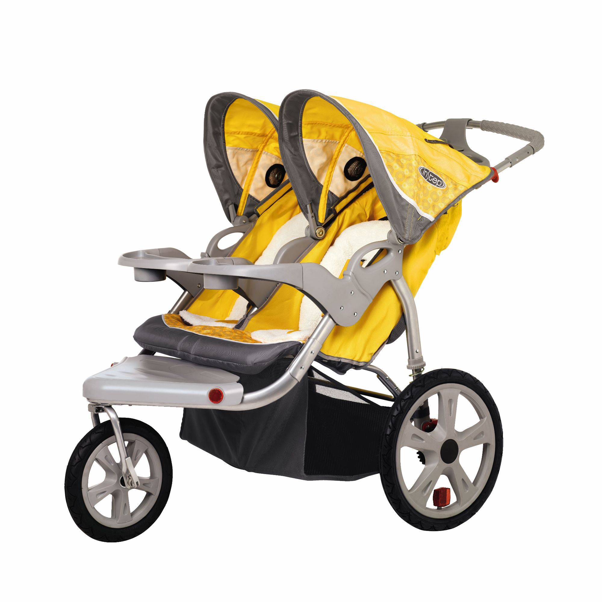 Grand Safari Swivel Double Jogger