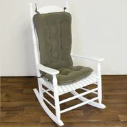 Greendale Home Fashions Jumbo Standard Rocking Chair Cushion - Cherokee Solid -  Sage at Kmart.com