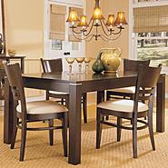 Oxford Creek 5-Piece Dining Set in Espresso at Kmart.com