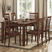 Oxford Creek 7-Piece Dark Brown Dining Table Set at Sears.com