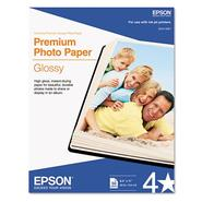 Epson High-Gloss Premium Photo Paper, 8-1/2 x 11, 50/Pk at Kmart.com