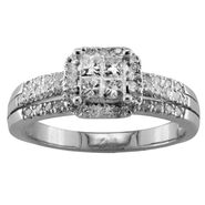 1/2 cttw Diamond Engagement Ring at Sears.com